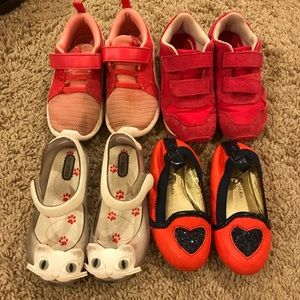 Girls Toddler Size 9 Shoes
